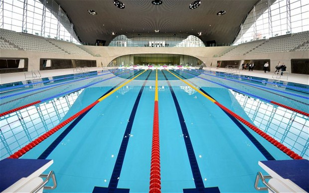 desperately seeking the perfect swimming pool - Olympic Swimming Pool Lanes