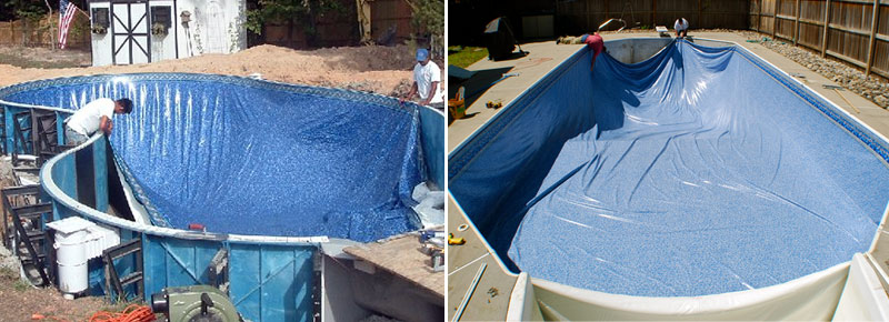 Vinyl Liner Pool Type Is Considered To Be A Less Expensive Option To Gunite  (concrete) Or Composite Pool. Typical Installation Time Can Be As Quickly  As A ...