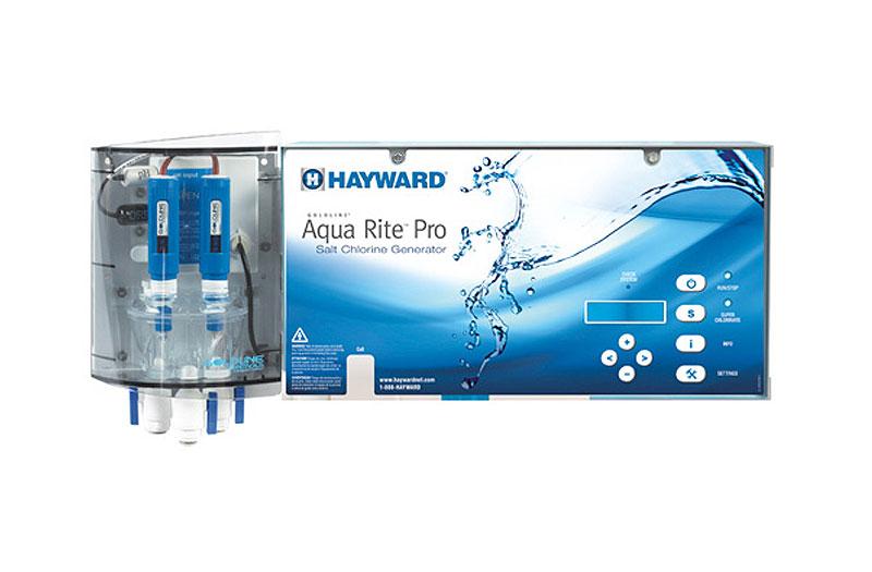 Aquarite Pro Salt Chlorine Generator Salt Chlorinator From Hayward