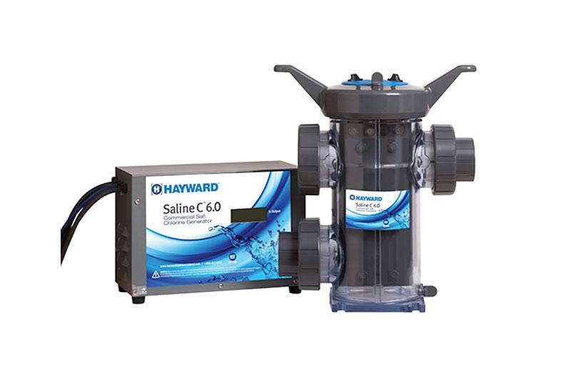 Sense And Dispense Feed System Salt Chlorinator From Hayward