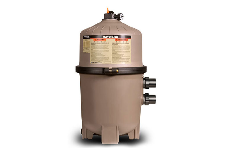 Swimclear single element cartridge filter from hayward for Pool filter equipment