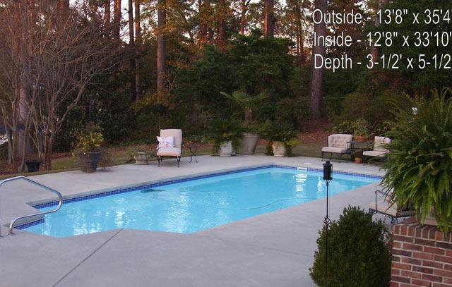 Back yard landscape ideas for Pool design eltham
