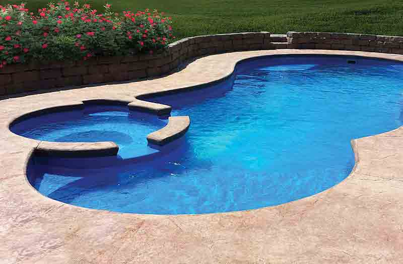 Leisure Pools Allure 40 Spa Combo Pool Model