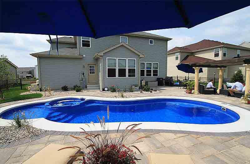 Inground Fiberglass Pools Fully Installed Pool Kits Pool Shells
