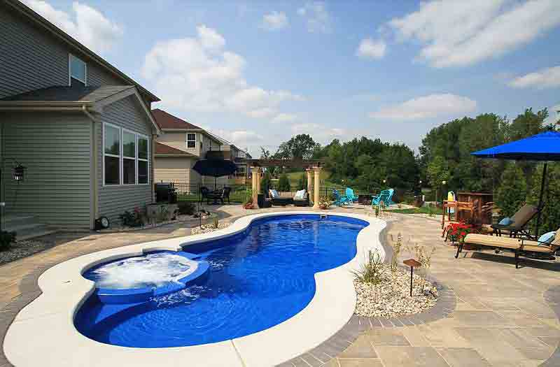 Leisure Pools Allure 40 Spa Combo Pool Model