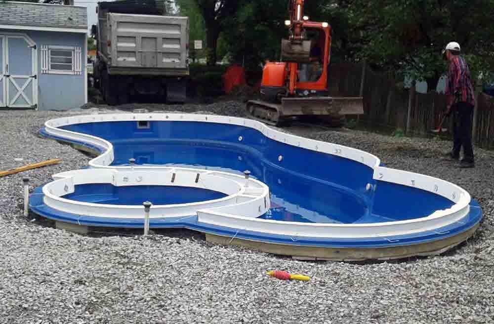 Leisure Pools Allure 30 Spa Combo Pool Model