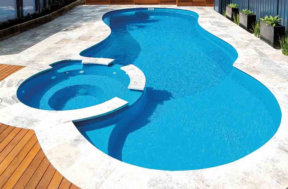 Leisure pools allure 40 pool model for Swimming lap pools