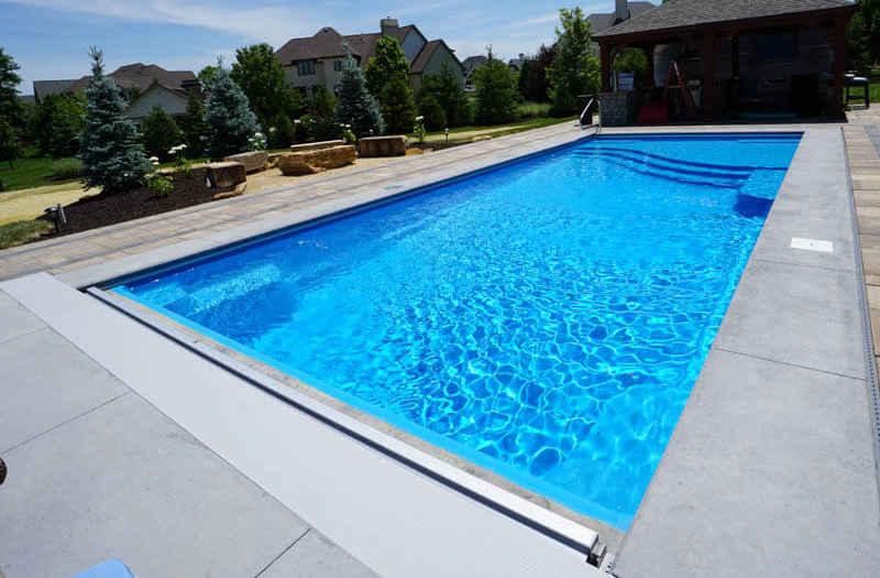 Thursday Pools Aspen 40 Tanning Ledge Combo Pool Model