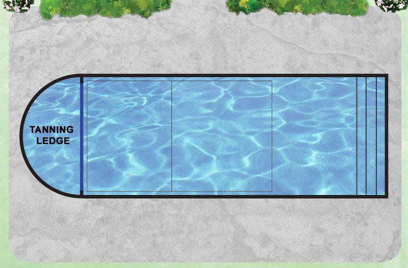 Inground fiberglass pools sale and installation pool kits pool shells athens 48 tanning ledge de pool solutioingenieria Choice Image