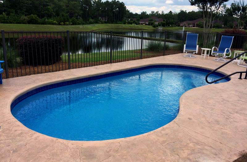 Blue Hawaiian Keystone 24 Pool Model