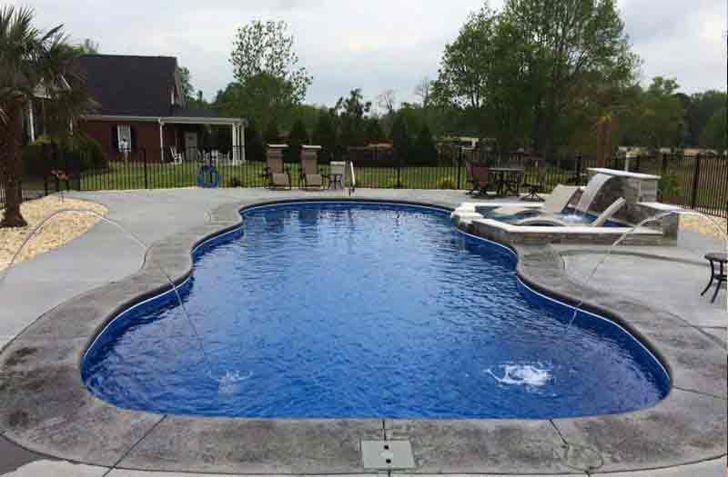 Leisure Pools Caribbean Pool Model