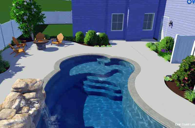 Leisure Pools Eclipse 40 Pool Model