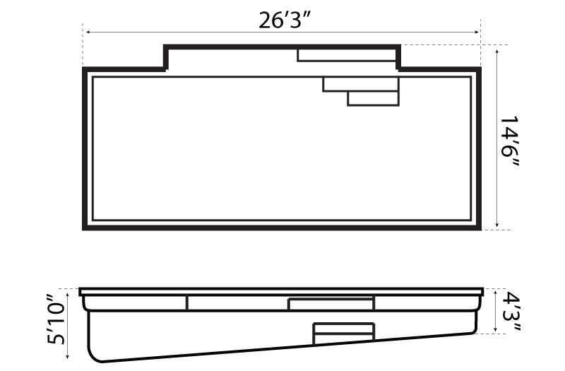 Elegance 26 Pool Schematics