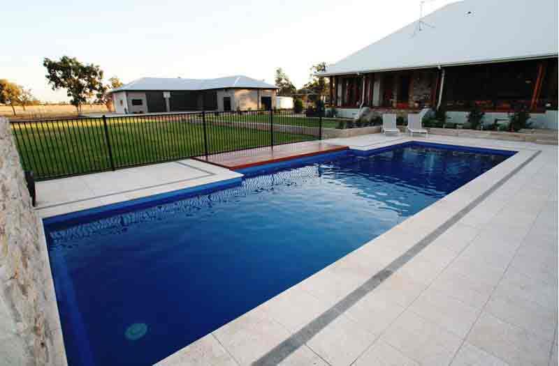 Inground Fiberglass Swimming Pools In Pennsylvania