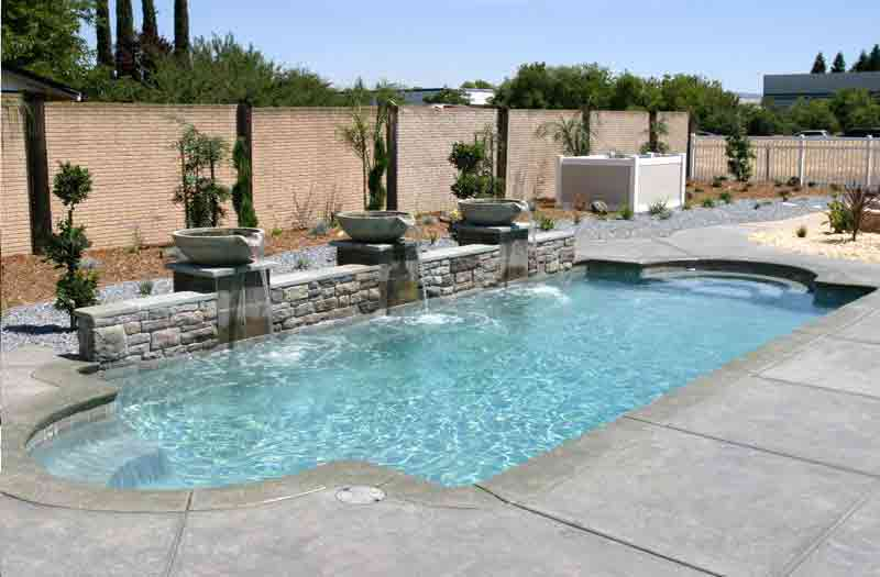 Viking pools acapulco pool model for Viking pools