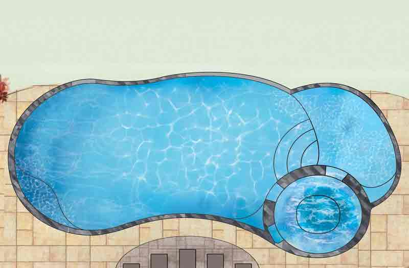 Allure 35 Pool by Leisure Pools