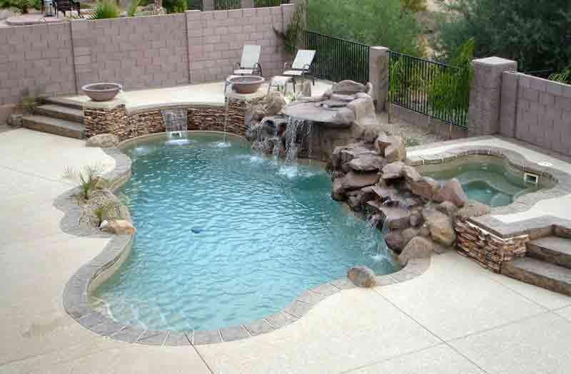 Viking pools bermuda pool model - Small fiberglass pools ...