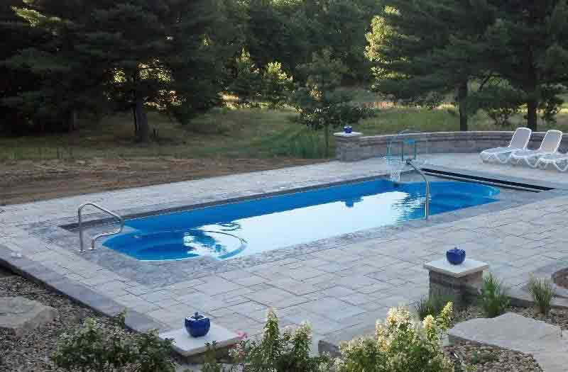 Caesar 39 S Palace Fiberglass Pool By San Juan Pools