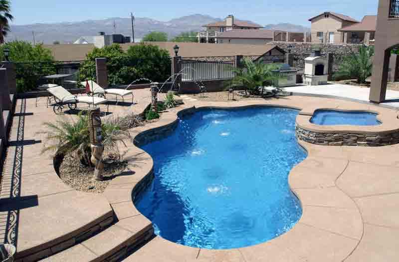 Viking pools cancun pool model for Viking pools