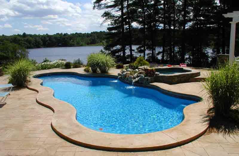 Inground fiberglass pools fully installed pool kits - Fiberglass swimming pool prices malaysia ...