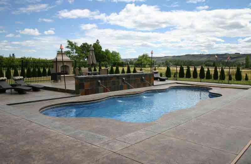 Viking Pools Caribbean Pool Model