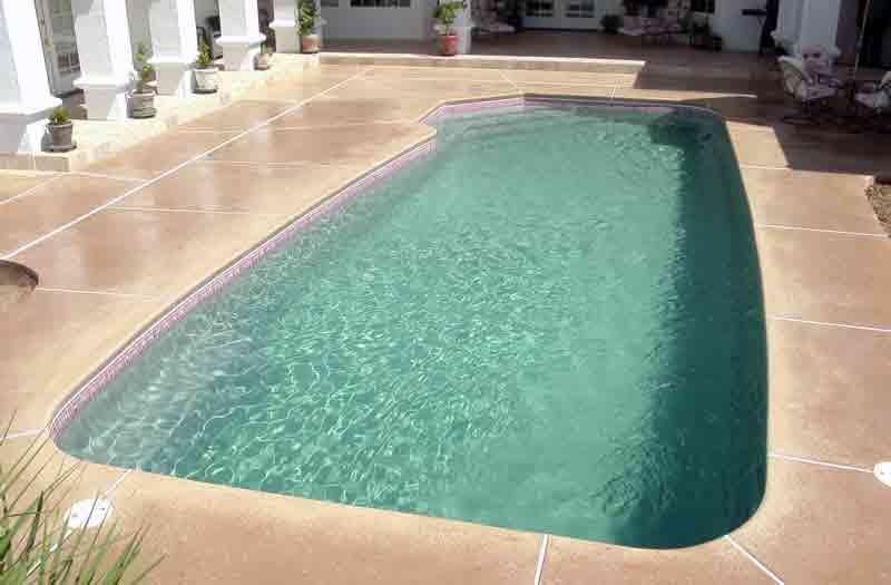 Viking Pools Carmel Pool Model