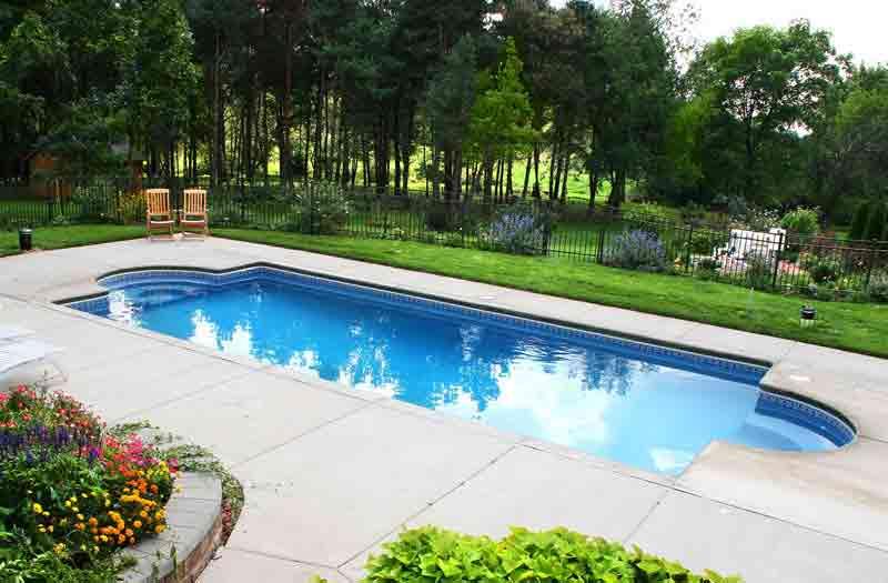 Viking Pools Chesapeake Pool Model