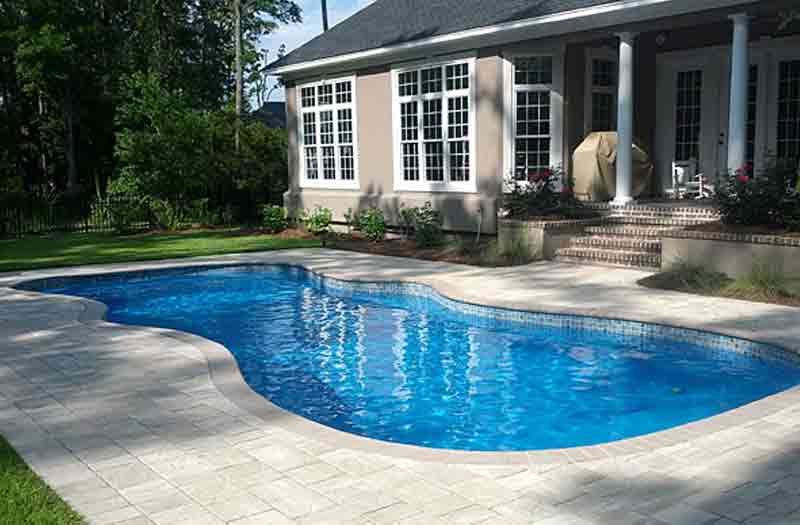 Coral sea 3 vinyl liner pool model by barrier reef - Do it yourself swimming pool kits ...