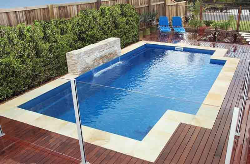 Inground fiberglass pools new construction pool kits for Fiberglass pool kits