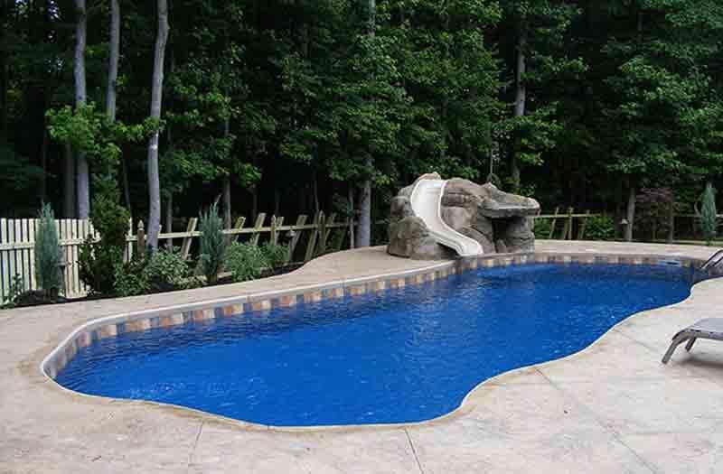 Blue Hawaiian Grand Isle 42 Pool Model