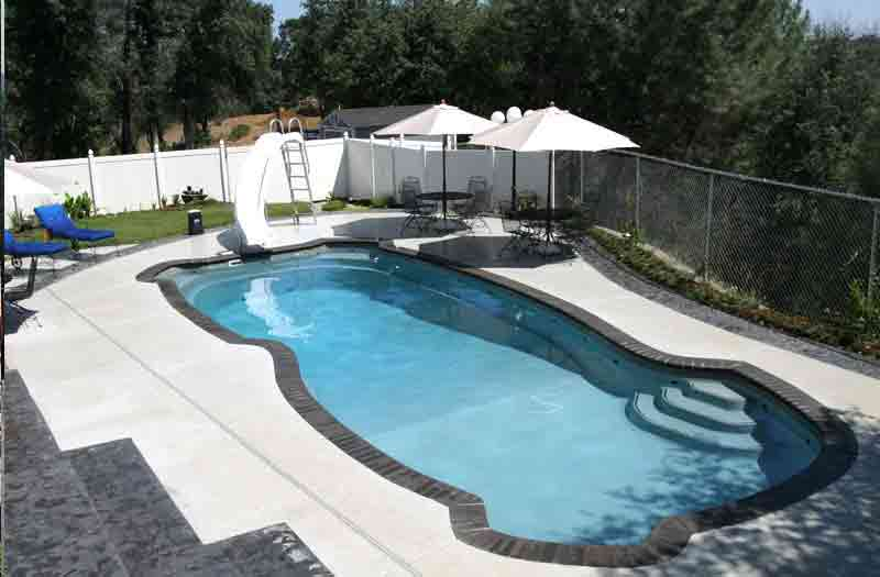 Viking Pools Gulf Coast Pool Model