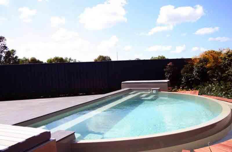 Leisure Pools Horizon Infinity Edge Pool Model