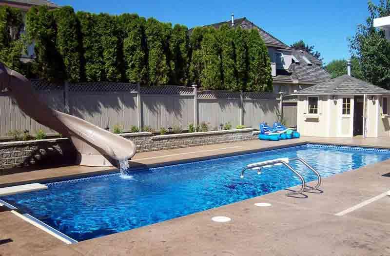 Viking Pools : Island Breeze II Pool Model