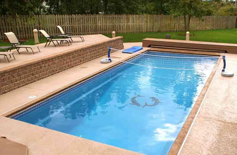 Viking pools island breeze ii pool model for Viking pools