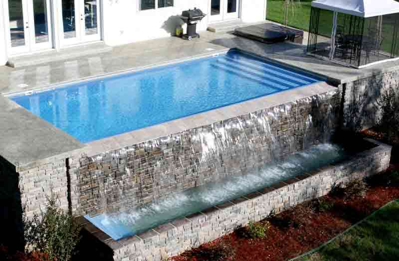 Viking Pools Lake Shore Pool Model