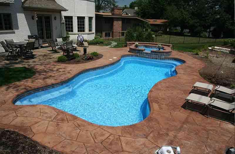 Blue Hawaiian Lexington Pool Model