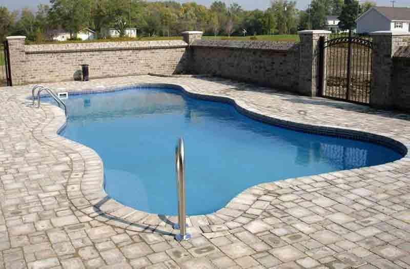 Blue hawaiian lexington 36 pool model for Swimming pool dealers