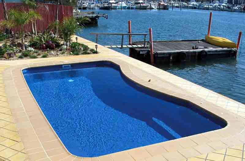 Inground Fiberglass Pools New Construction Pool Kits Pool Shells