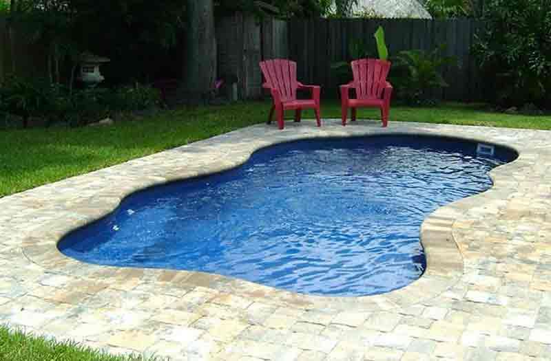 Blue hawaiian pleasant cove pool model for Pool design hamilton