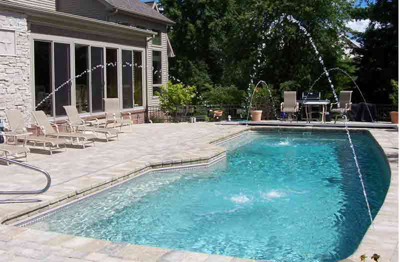 How much do viking pools cost for Fiber glass price