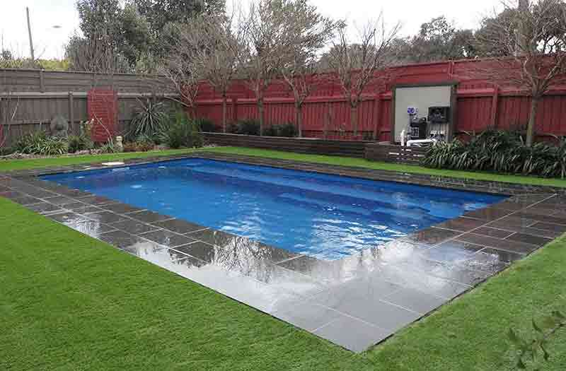 What is the price for rectangle inground fiberglass pool - Average price of an inground swimming pool ...
