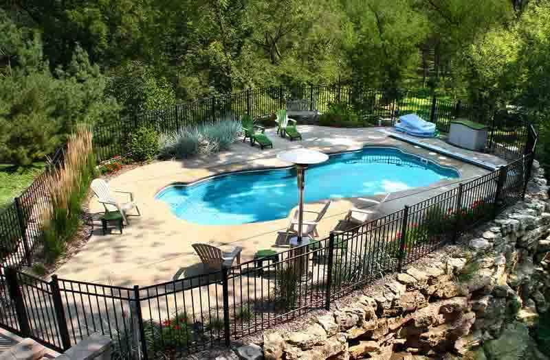 Viking Pools Rockport Pool Model