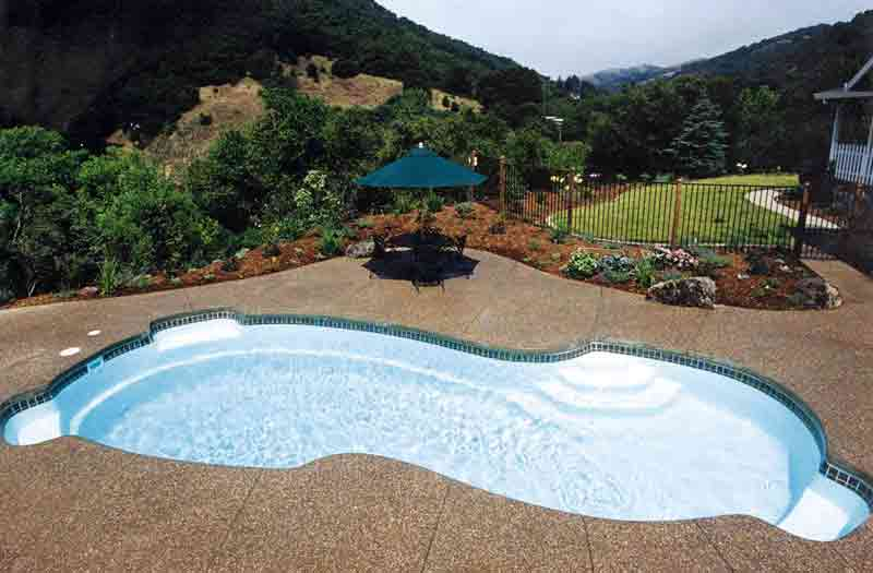 Viking Pools Rockport Pool Model