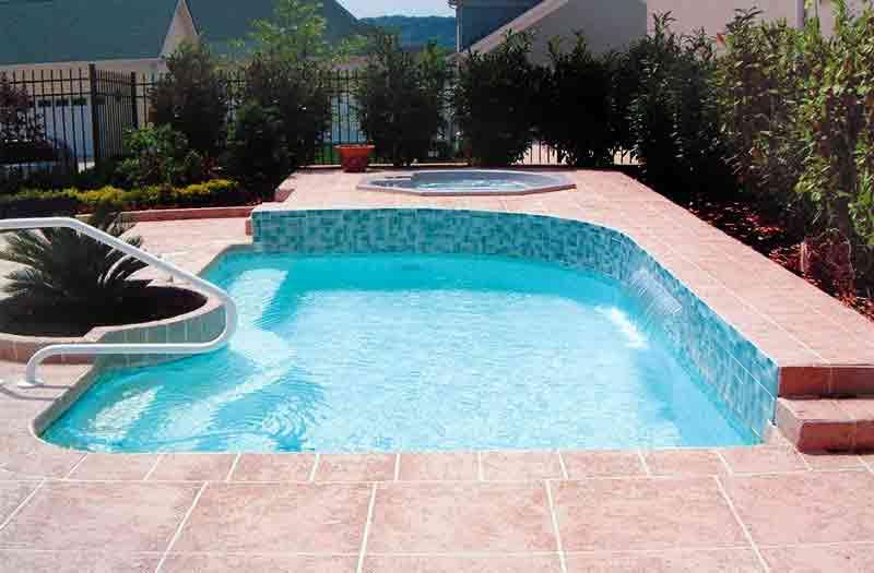 Blue Hawaiian Sandy Cove Pool Model