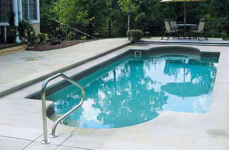 Liberty composite flagship pool model for Fiberglass drop in pools prices