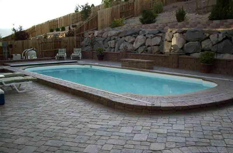 Lexington Fiberglass Pool By Blue Hawaiian Pools