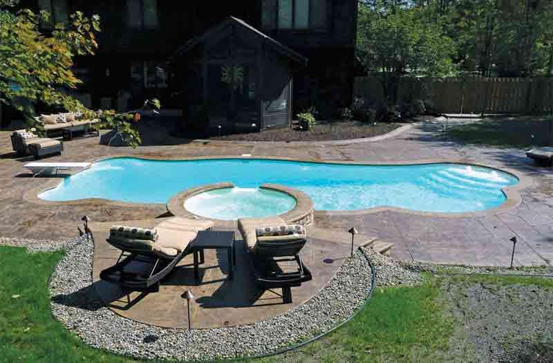 Viking pools venice pool model for Viking pools