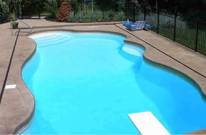 Inground Fiberglass Pools Sale And Installation Pool Kits