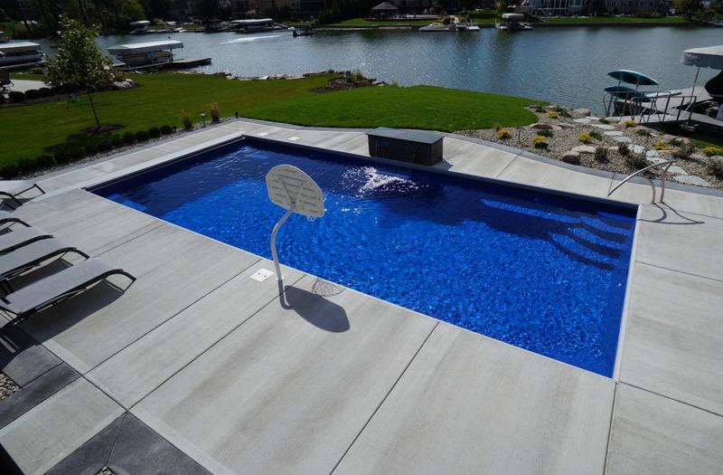Thursday Pools Goliath 33 Pool Model