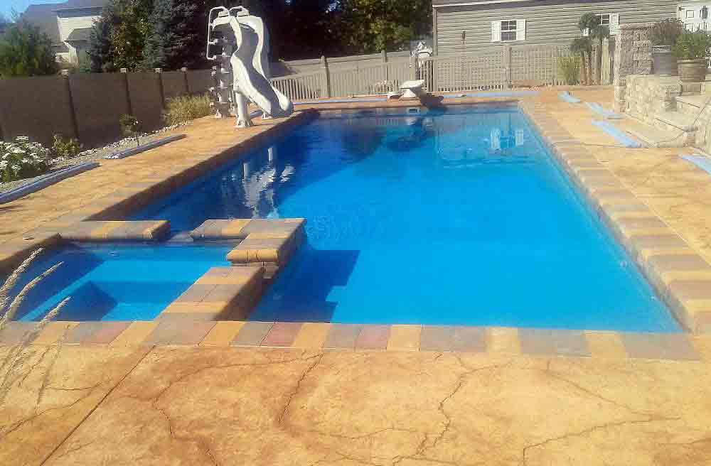 Inground swimming pools spas sale and installation for Swimming pool financing